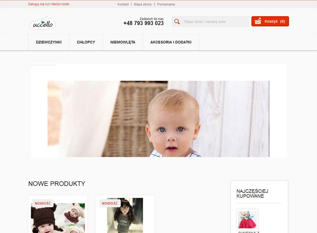 Wdrożenie sklepu internetowego opartego na PrestaShop.