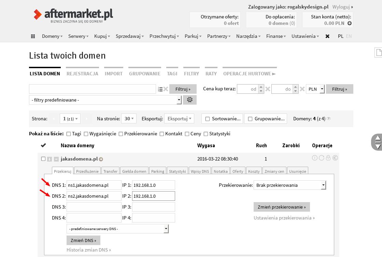 aftermarket-ustawienia-dns
