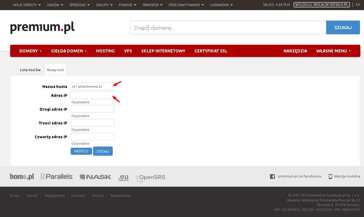 premium-dodanie-host