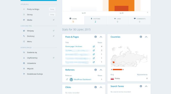 wordpress.com pozwala na zarządzanie wieloma blogami!